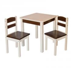 Столик для детей со стульями Fenster Юниор Венге