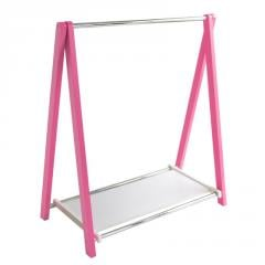 Стойка для одежды Fenster Лео 1П Розовый
