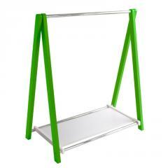 Стойка для одежды Fenster Лео 1П Зеленый