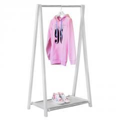 Стойка для одежды Fenster Модус 2П Белый 146x75x48,5
