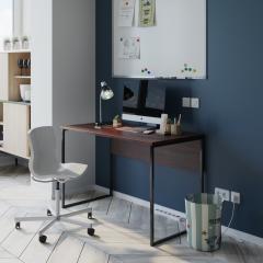 Стол офисный Fenster Универ 2 коричневый...
