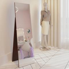 Напольное зеркало Fenster Жаклин коричневое