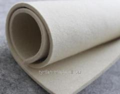 Войлок для матраса пищевой толщ от 3,0 до 20 мм