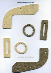 Войлочные детали, детали из войлока (изготовление по размерам заказчика)