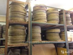 Войлочные круги для полировки диаметром 430 мм,