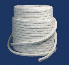 Высокотемпературный уплотнительный шнур на оболони (продажи от 1-го метра)