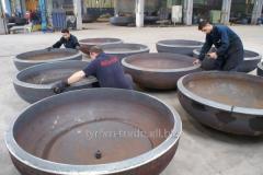 Заглушки стальные большого диаметра на...