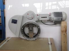 Затвор вакуумный электро поворотный 2звэ-400