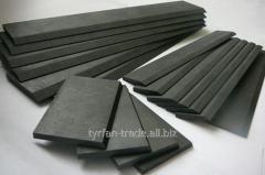 лопасти лопатки графитовые для вакуумных компрессоров насосов Dominant, Rietschle, Romaior,