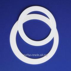 Изготовление прокладок, колец из фторопласта за 1 час в киеве на оболони