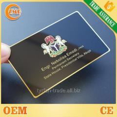 """Клубная карта на металле, изготовление клубных карт """"vip"""" класса под золото,серебро за 1 час"""