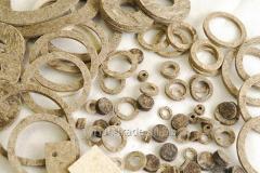 Кольца из войлока, войлочные кольца (вырезка по размерам)
