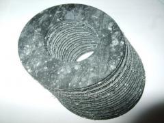 Кольца паронитовые, кольца из паронита (вырезка по размерам заказчика в киеве на оболони)
