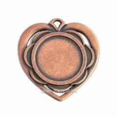 Медаль бронза 40мм