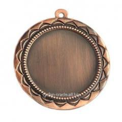 Медаль бронза 70мм