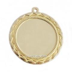 Медаль золото 70мм