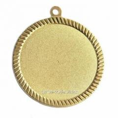 Медаль наградная золото 60мм