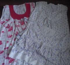 Ночные рубашки женские трикотажные, ночнушки от производителя, опт от 1000грн.