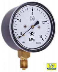 U-tube manometers