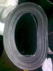 Пластина резинотканевая
