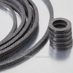Плетеная набивка из графита/из углерода/для