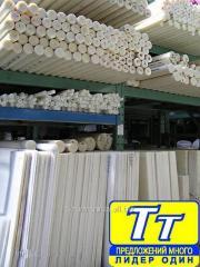 Полиацеталь листы толщ до 300 мм,стержни диаметром до 800 мм