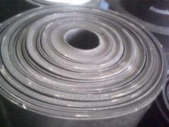 Резина кордовая маслобензостойкая на оболони