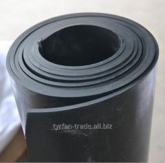 Резина прокладочно-амортизационная листовая