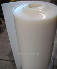 Силиконовая резина шир. До 1800 мм,толщ. До 10 мм
