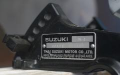 Табличка,бирка,шильд,шильдик на лодочный мотор (двигатель) suzuki (сузуки)