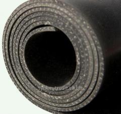 Техпластина кордовая толщиной 0,6; 0,8; 1,0; 1,2; 1,5; 2,0; 2,5; 3,0; 4,0; 5,0; 6,0 мм