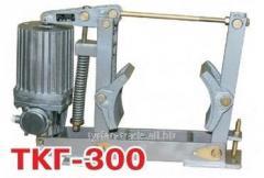 Тормоз колодочный гидравлический крановый ткг 300
