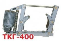 Тормоз колодочный гидравлический крановый ткг 400