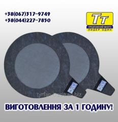 The GWF filter gasket for counters of the CDWG and