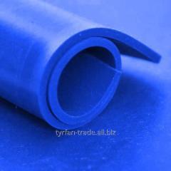 Фторсиликоновый лист синего цвета