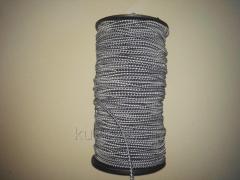 Резинка шляпная 3 мм серо-белая