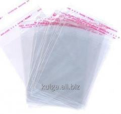 Packages polypropylene 35sm*45sm with the adhesive
