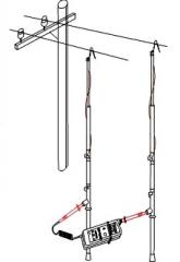 Комплект для измерения сопротивления цепи