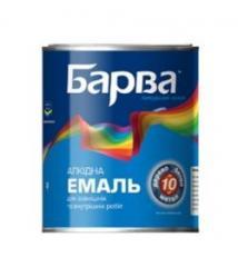 Эмаль Барва ПФ-115 красная 25 кг (51009)