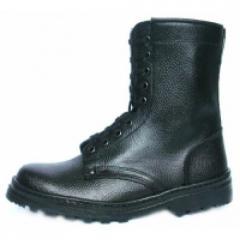 Ботинки ОМОН б/п юфть/кирза летние 7404