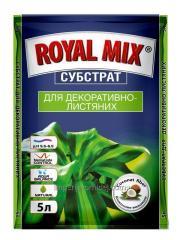 """Субстрат ROYAL MIX"""" ДЛЯ ДЕКОРАТИВНО-ЛИСТВЕННЫ"""