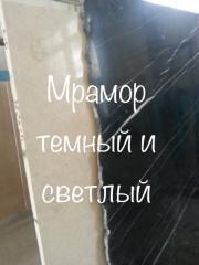 Мраморные слэбы и мраморная плитка - закрытие склада