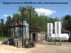 Оборудование для переработки и утилизации шин и