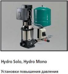 Установки повышения давления GRUNDFOS Hydro Solo,