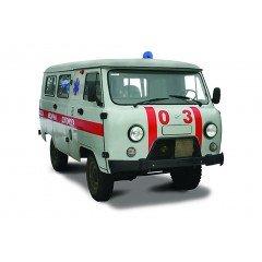 Автомобілі швидкої допомоги УАЗ, ГАЗ