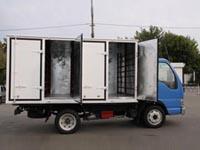 Camioane pentru livrare de paine