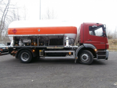 Anks, tank semi-trailers for transportation of the