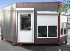 Модульные домики ларьки торговые купить от