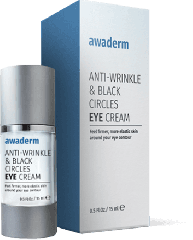 Cream of bags under the eyes and wrinkles Awaderm