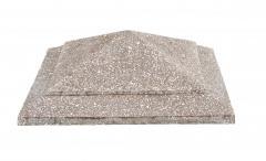"""Cap on a column """"Fir-tree"""", concrete"""